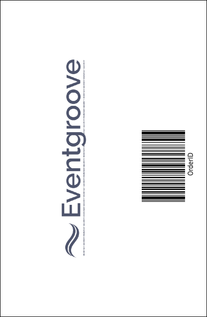 Airline Drink Ticket Product Back