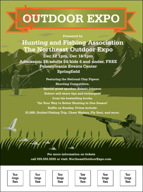 Sportsman's Expo Flyer Product Front