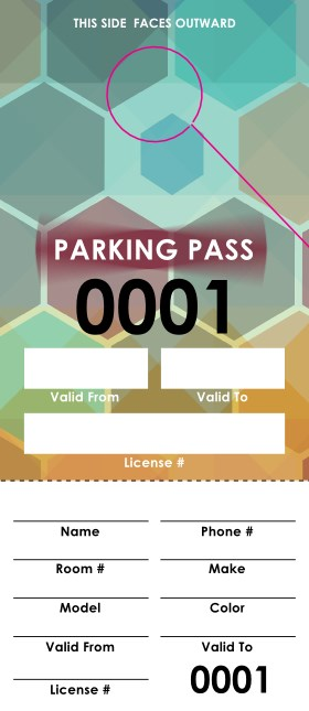 Music Fest Parking Permit