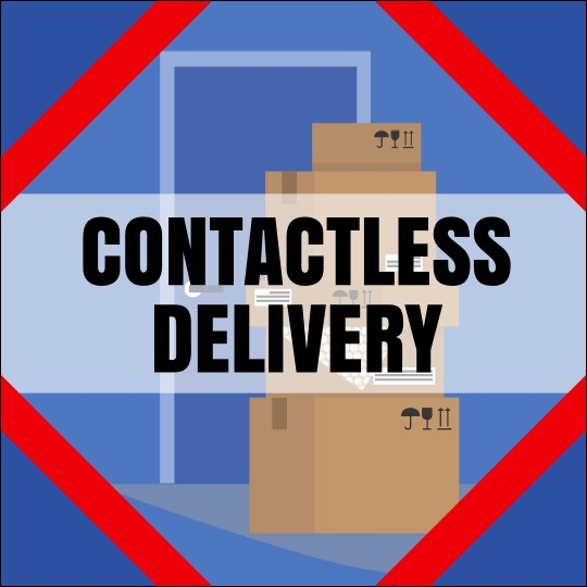 "3"" x 3"" Package Delivery Sticker Product Front"