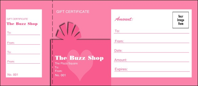 Present Gift Certificate 007